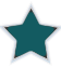 Star separator teal thin
